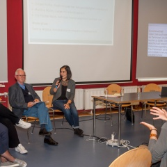 Podiumsdiskussion des Leipzig-Fachtages